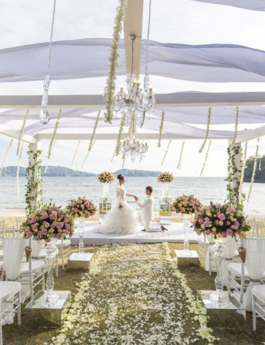 Platinum Wedding Package - Phuket Beach Wedding